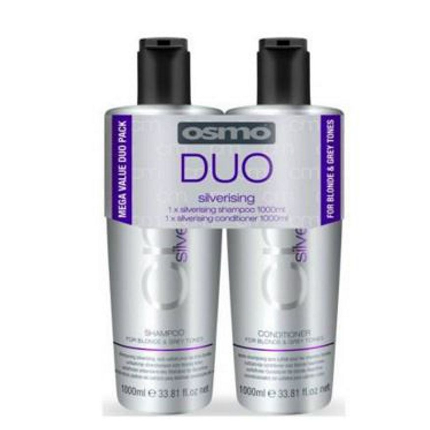 Osmo Silverising Shampoo Conditioner Twin Pack 5060148614021 163 13 95 Buy Online At Hairtech