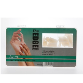 The Edge Nail Tips Active 360 Assorted