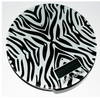 Hair Tools Meausuring Scales Zebra
