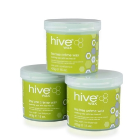 Options By Hive Creme Wax Tea Tree 3 for 2 pack
