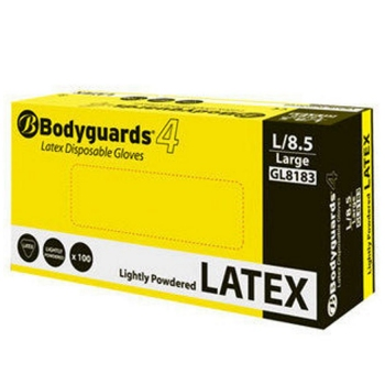 Bodyguard Latex Gloves