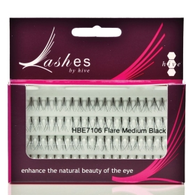 Hive Flare Lashes Black (3 Lengths)