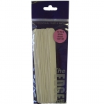 The Edge Emery Board White Streak 100/100 Grit 10 pack
