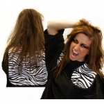 Hair Tools Zebra Print Cutting Collar