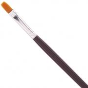 No 5 Gel Nylon Brush Flat