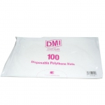 Disposable Poly Hats Clear