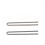 "Hair Tools Plain Pins 2 1/2"" Brown"