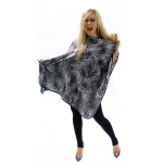 Hair Tools Cutting Gown Snow Leopard