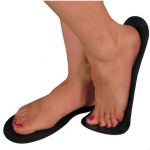 Disposable Sticky Feet Black