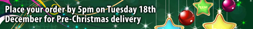 Order by 19th Decmber for Christmas delivery
